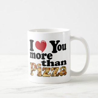 Pizza Love Classic White Coffee Mug