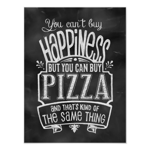 Pizza Lover's Poster