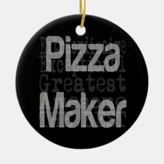 Pizza Maker Extraordinaire Christmas Ornament