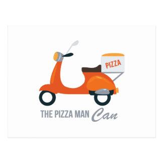 Pizza Man Postcard