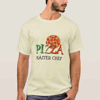 Pizza Master Chef T-Shirt