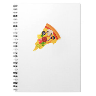 Pizza Matching Couple Valentines Day Gift Foodies Notebook