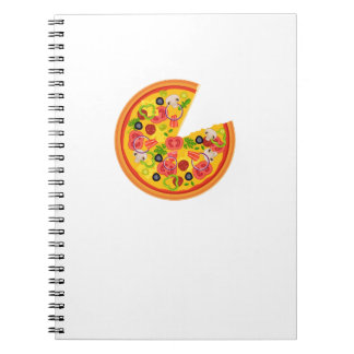 Pizza Matching Couple Valentines Day Gift Foodies Notebooks