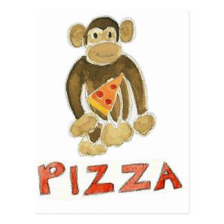 Pizza Monkey Post Card