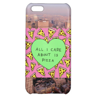 Pizza & New York Cover For iPhone 5C
