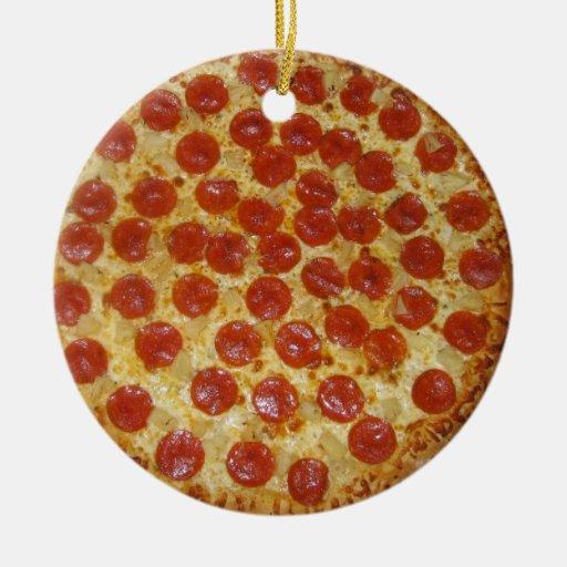 pizza ornament