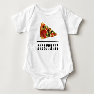 Pizza Over Everything Baby Baby Bodysuit