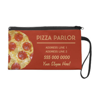 Pizza Parlor custom accessory bags