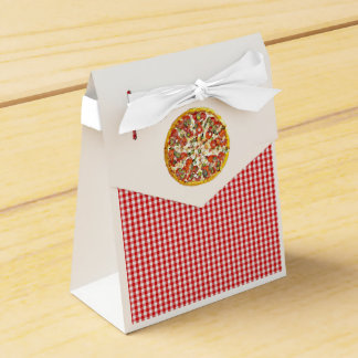 Pizza Party Candy Favor Bags for Birthday Party Favour Box