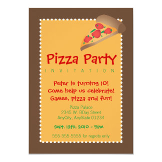 Pizza Party Card