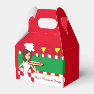 Pizza Party Favour Box