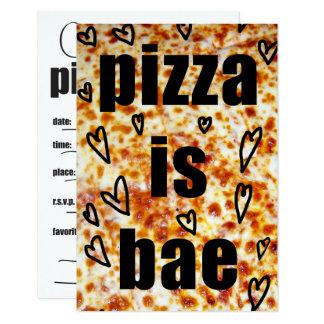 Pizza Party Invite/Pizza is BAE Invite