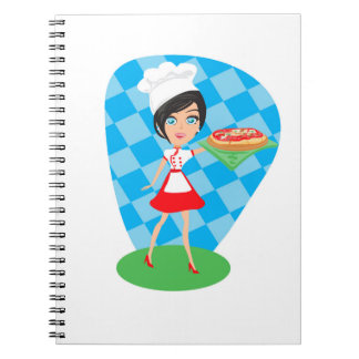 Pizza Party Notebook