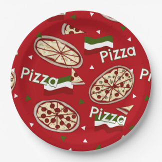 Pizza Party? PAPER PLATES