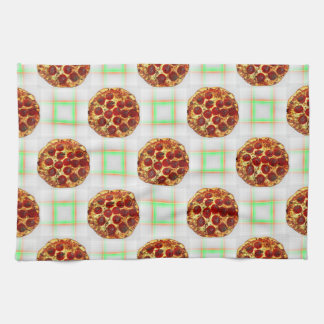 Pizza Party Tea Towel