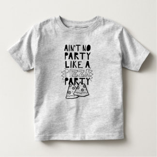 Pizza Party Toddler shirt