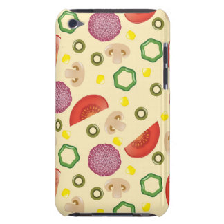 Pizza Pattern 2 Barely There iPod Cover