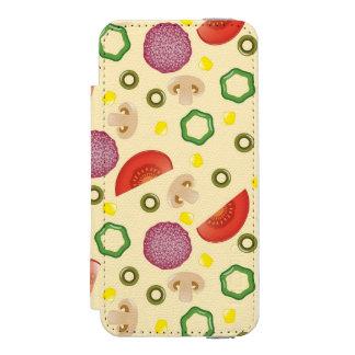 Pizza Pattern 2 Incipio Watson™ iPhone 5 Wallet Case