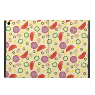 Pizza Pattern 2 iPad Air Cases