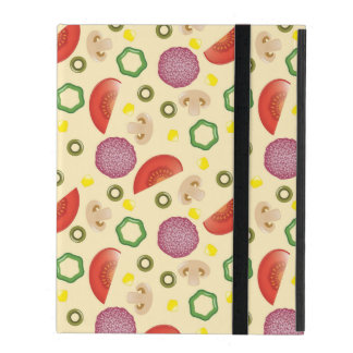Pizza Pattern 2 iPad Cover