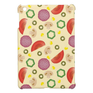 Pizza Pattern 2 iPad Mini Cover