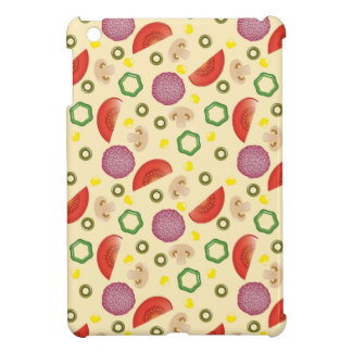 Pizza Pattern 2 iPad Mini Covers