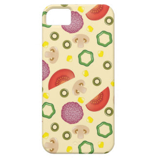 Pizza Pattern 2 iPhone 5 Case