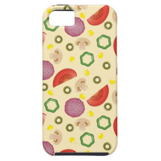Pizza Pattern 2 iPhone 5 Cover