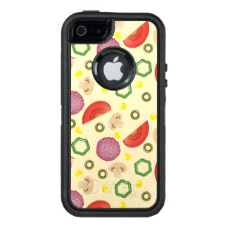 Pizza Pattern 2 OtterBox Defender iPhone Case