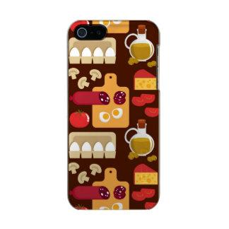 Pizza Pattern Incipio Feather® Shine iPhone 5 Case
