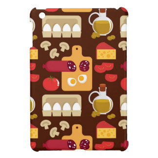 Pizza Pattern iPad Mini Covers