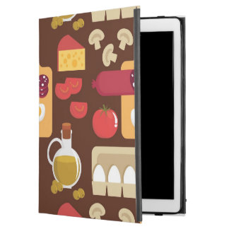 "Pizza Pattern iPad Pro 12.9"" Case"