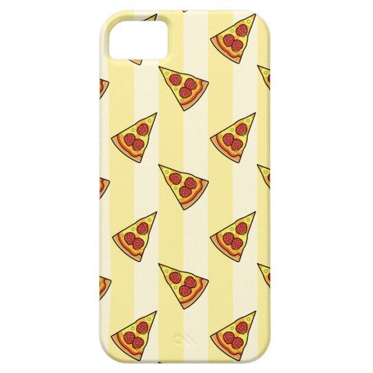 Pizza Pattern iPhone 5/5S Case