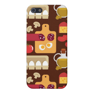 Pizza Pattern iPhone 5 Cover