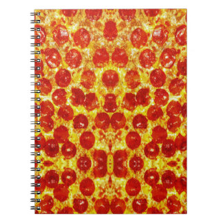 Pizza Pattern Notebook