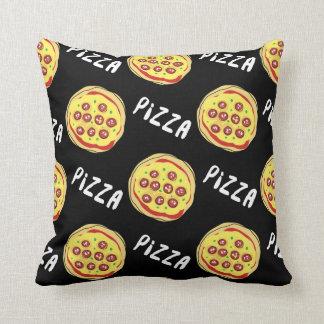 Pizza Pattern Throw Cushions