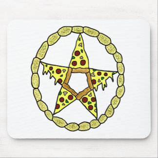 Pizza Pentacle Mousepad