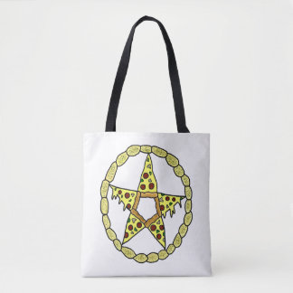 Pizza Pentacle Tote Bag