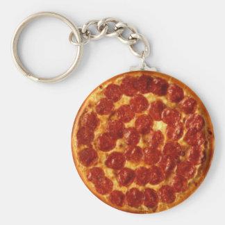 Pizza Peperoni Keychain