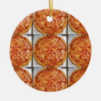 Pizza Photo Christmas Ornament