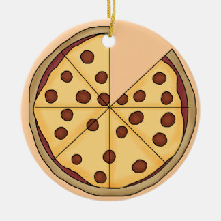 Pizza Pie Business Christmas Ornament