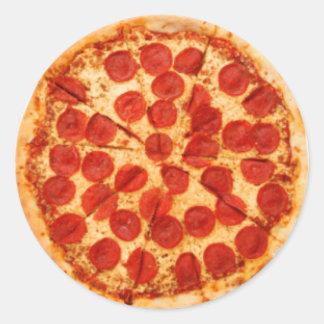 Pizza Pie Classic Round Sticker
