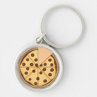 Pizza Pie Keychain