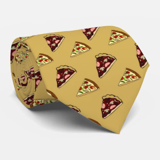 pizza, pizza, tie