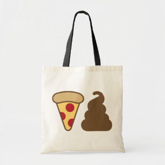 Pizza Poop Tote Bag
