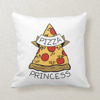 Pizza Princess Cushion