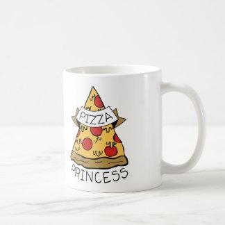 Pizza Princess Coffee Mugs