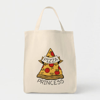 Pizza Princess Tote Bag