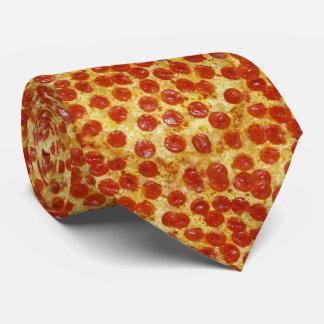 Pizza Print on Neck Tie