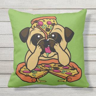 Pizza Pug throw pillows